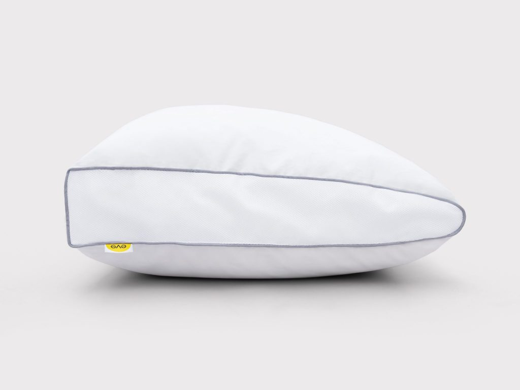 eve microfibre support pillow with wedge shape